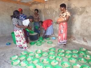 Shine feeding programme