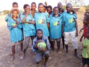 Shine football team